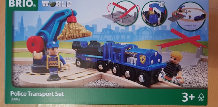 Brio – Polizei Goldtransport Set