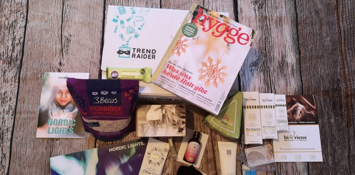 Nordic Lights – Die November Box von TrendRaider