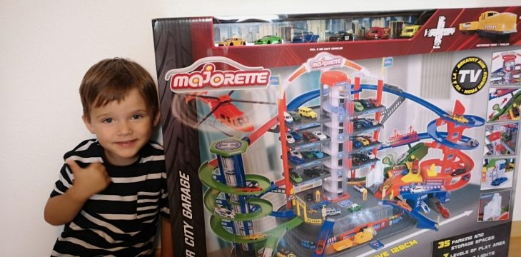 Majorette Super City Garage