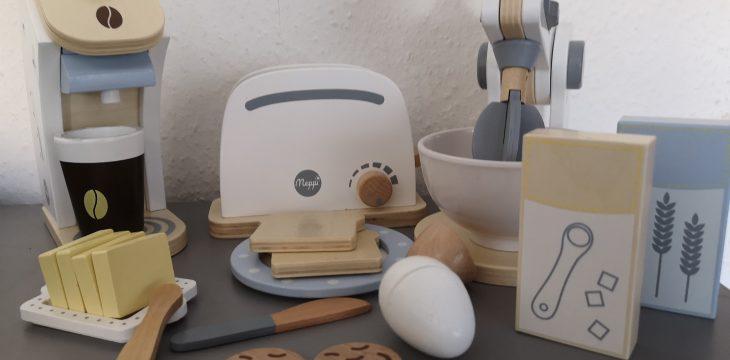 Meppi – Zubehör aus Holz für die Kinderküche
